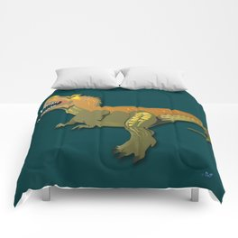 Dinosaur - 'A Fantastic Journey' Comforters