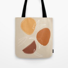 VENDEMMIA SICILIANA - Sicilian Harvest - Modern abstract art Tote Bag
