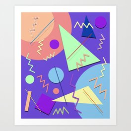Memphis #7 Art Print