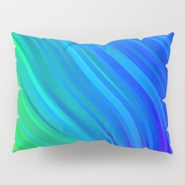 stripes wave pattern 1 stdv Pillow Sham