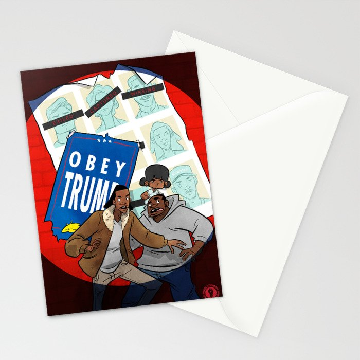 Days Of Future Trump Stationery Cards
