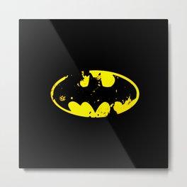 bat man logo Metal Print