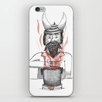 cooking iPhone & iPod Skins featuring Cooking  by Adrienne S. Price