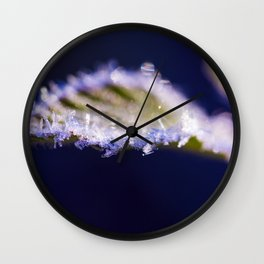 GREEN FREEZE Wall Clock