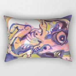 Dancing At Night Rectangular Pillow