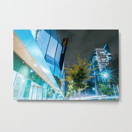 The City's Come Up Metal Print