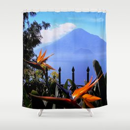 Lago Atitlan, Guatemala Shower Curtain