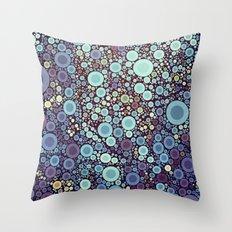 Color Circles I Throw Pillow
