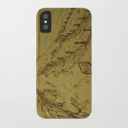 Beacons Sketch iPhone Case