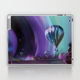 NASA Retro Space Travel Poster #7 Juniper Laptop & iPad Skin