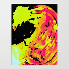 Solar Flare Wave Poster
