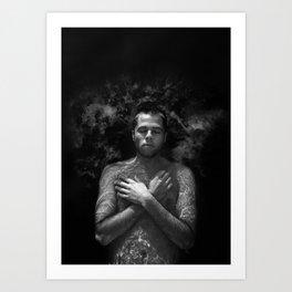 Holy Water - Human Series Art Print