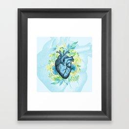 Rest Your Heart Here, Dear Framed Art Print