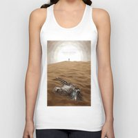 """transformer Tank Tops featuring """"I think we just found a Transformer"""" by s2lart"""