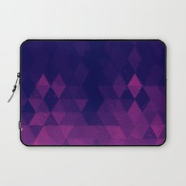 Geo Pattern Plum Laptop Sleeve