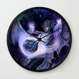 Otherworldly Wall Clock