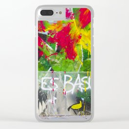 Art is Tra$h Clear iPhone Case