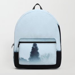 The moose - minimalist landscape Backpack