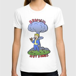 fallout vault boy mushroom T-shirt