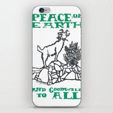 Peace on earth 2014 II iPhone & iPod Skin