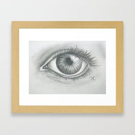 Soul Window Framed Art Print