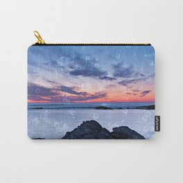 Seascape at sunset in northern Portugal Carry-All Pouch