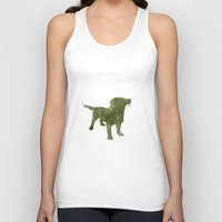 labrador Tank Tops featuring Labrador Retriever by Carma Zoe
