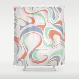 Abstract print design Shower Curtain
