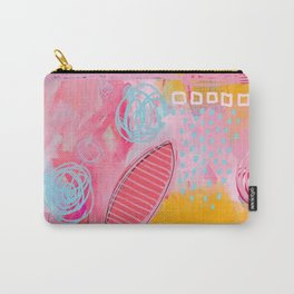 story of N - abstract painting Carry-All Pouch