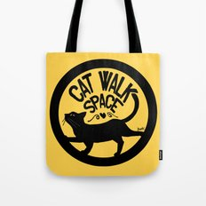 Cat walk space Tote Bag