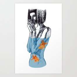 Uncertainty Art Print