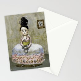 frida kahlos' grandgrandgrandmother Stationery Cards