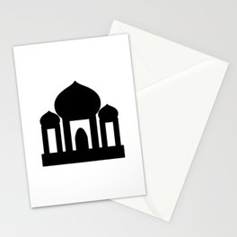 Mosque Icon Stationery Cards