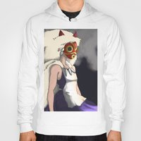 mononoke Hoodies featuring Mononoke by Oda Oda