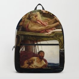 Herbert James Draper - Ulysses and the Sirens Backpack