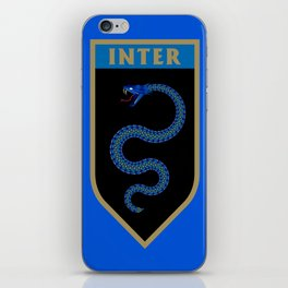 Milan Blue Badge iPhone Skin