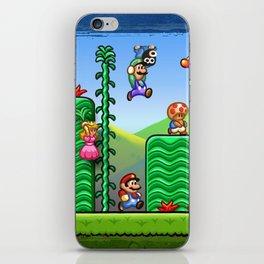 Super Mario 2 iPhone Skin