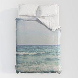 Ocean Crashing Waves Duvet Cover