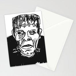 Frankenstein's Monster Stationery Cards