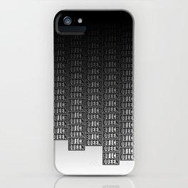 BQ - Logo Pattern Dip iPhone Case