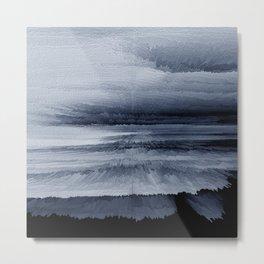 Abstract black painting 2 Metal Print