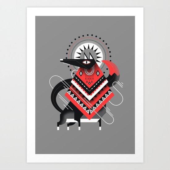 Wolf XXL Art Print