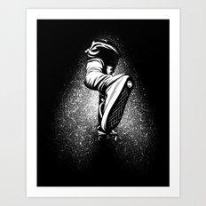 sk8 forward Art Print