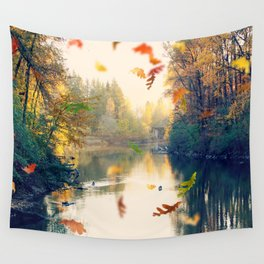 Change Flies Wall Tapestry