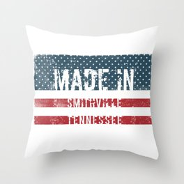 Made in Smithville, Tennessee Throw Pillow