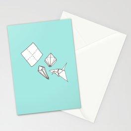 Oragmi Paper Crane Stationery Cards