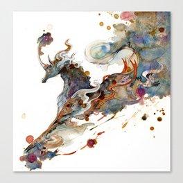 Kirin Unicorn Canvas Print