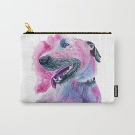 Irish Wolfhound Watercolor Carry-All Pouch