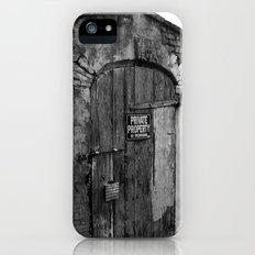 Private Property iPhone (5, 5s) Slim Case