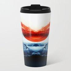 mission blue Metal Travel Mug